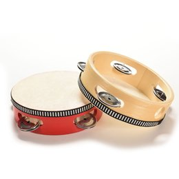 beat toy Canada - Musical Wooden Drum Rattles Educational Toy Hot Musical Beat Instrument Hand Drum Childrens Kids