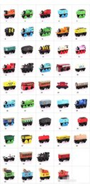 $enCountryForm.capitalKeyWord Australia - Wooden Toy Vehicles Wood Trains Model Toy Magnetic Train Great Kids Christmas Toys Gifts for Boys Girls K0227