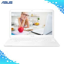 "White Laptops Notebooks Australia - Asus E502SA3150 N3150 White laptop 15.6"" Intel core N3150 CPU 4GB DDR3L RAM 500GB SSD Windows 10 Portable notebook"