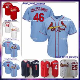 Discount paul goldschmidt jersey - 46 Paul Goldschmidt 25 Dexter Fowler Jersey 1 Ozzie Smith Jersey 4 Molina St Louis jersey Cardinals Majestic Coolbase Je