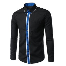 $enCountryForm.capitalKeyWord Australia - Design of Slim Long-sleeve Shirt with Double-collar and Colour-matching Gate in 3D Photo-5956