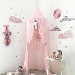kids canopy tents NZ - New Nordic Chiffon Mosquito Net Hanging Dome Princess Bed Canopy Ins Style Kids Playing Tent for Nursery Kids Room Decoration