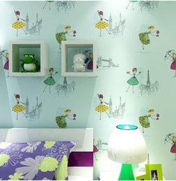 $enCountryForm.capitalKeyWord Australia - Children's Room Boy and Girls bedroom Wallpaper Mini Cartoon wallpaper Pentagram Style Blue 0.53m*10m=5.3m2