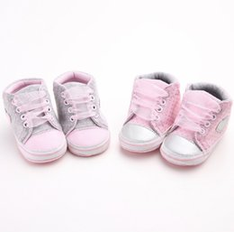 Crochet Baby Footwear Australia - New 0-1-year-old baby girl's soft-soled leisure sports footwear