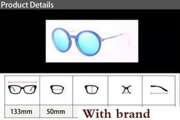 $enCountryForm.capitalKeyWord Australia - New Glass Lens Round Sunglasses Women Retro Sunglasses Ladies Sun glasses Female Shiny Shades with free Retail cases and label