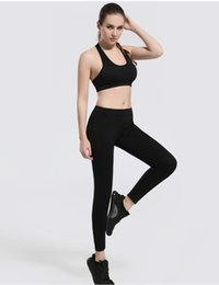 wholesale clothing yoga pants UK - pants Gym clothing outfits women compression seamless leggings tights high waist for yoga jogging Sport Training Running Fitness Sportswear