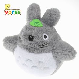 Wholesale Character Soft Toys Australia - Lovely Totoro Plush Animals Toys Stuffed Doll High Quality Kawaii Movie Character Totoro Pendant Cartoon Soft Toy Kids Gift 18cm