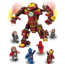 $enCountryForm.capitalKeyWord NZ - the avenger model building kits action figures famous Iron man captain America model buildings kids develop intelligence blocks toys
