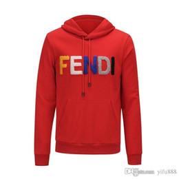 Short Sleeved Sweater men online shopping - Designer FD Men Hoodie Sweatershirt Sweater Mens Hoodies Clothing Thin Long Sleeved Youth Movements Brand Streetwear