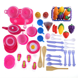 $enCountryForm.capitalKeyWord Australia - 54pcs Kid Kitchen Pretend Cookware Play Toy Set