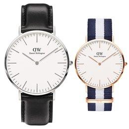 Toptan satış Kol kadın lüks İzle erkekler bayanlar altın moda saatler 36 40mm erkek kadın bayan askeri saat Montres dökün femmes