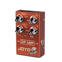 Amp Pedals Australia - JOYO R-04 ZIP AMP Overdrive Electric Guitar Effect Pedal Strong Compression Gain Distortion Rock Monoblock Effects Processor