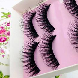 $enCountryForm.capitalKeyWord Australia - Best 5 Pairs False Eyelash Natural Long Black Eye Lashes Makeup Thick Fake Eyelashes QQ99
