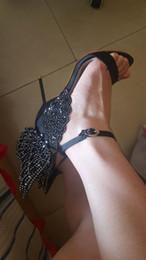 $enCountryForm.capitalKeyWord Australia - Sophia Webster Evangeline Angel Wing Sandal Plus Size 42 Genuine leather Wedding Pumps Pink Glitter Shoes Women Butterfly Sandals Shoes 6fds