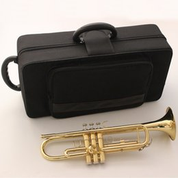 $enCountryForm.capitalKeyWord NZ - Japan Bb Trumpet 4435ll Gold Lacquer Music Instruments Profesional Trumpets Intermediate Student Case Mouthpiece Accessories