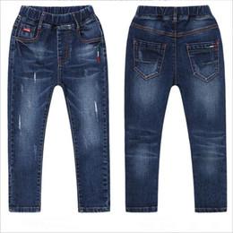 $enCountryForm.capitalKeyWord Australia - Children's Casual Jeans Boy Fashion Broken Feet Harlan Pants Kids Baby Spring Autumn Clothes Size 4-14Y