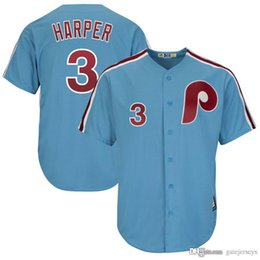 ea76b0a4b Men s Philadelphia Phillies 34 Bryce Harper Jersey Embroidery Majestic  White Scarlet Official Cool Base Player Jerseys