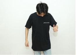 $enCountryForm.capitalKeyWord Australia - Brand new 19SS patamountain BF wind Korea INS Mountain range letter Printed Loose T-shirt men and women Simple Short sleeve T-shirt top
