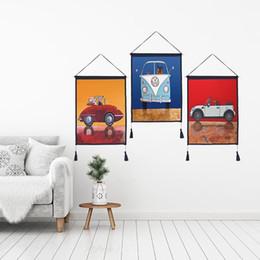$enCountryForm.capitalKeyWord Australia - Decor Wall Scroll Hanging Tapestry Cartoon Bus Hanging Painting,Sofa Background Hanging Cloth,Corridor,Porch,Electric Meter Box