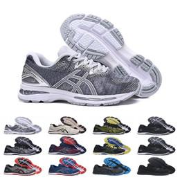 Snow Gel Australia - 2019 New GEL-Nimbus 20 Stability Breathable running shoes for men black white blue red mens trainer fashion sports sneakers runner