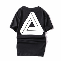 a3b4d6e78562 New luxury men s Tshirt fashion designer Palaces brand letter printing  TshirtsO collar high quality cotton sports T-shirt street hip hop Tee