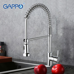 $enCountryForm.capitalKeyWord NZ - GAPPO kitchen mixer pull out Kitchen Faucet deckmount sink faucet mixer Cold hot water grifo spring torneira GA1052-3