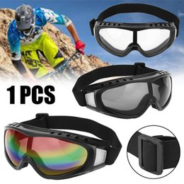bikes for adults Australia - 1pc Adult Anti-fog Motorcycle Motocross Goggles For ATV Dirt Bike Off Road Skiing Snowboard Cycling Eyewear