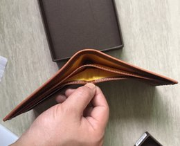 $enCountryForm.capitalKeyWord Australia - Paris plaid style Designer mens wallet famous Women luxury wallets special canvas multiple short small bifold wallet with box