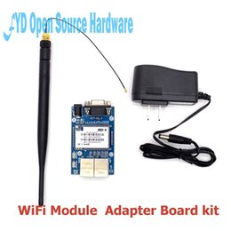 $enCountryForm.capitalKeyWord NZ - Freeshipping 1set HLK-RM04 RM04 Uart Serial Port to Ethernet WiFi Wireless Module with Adapter Board Development Kit