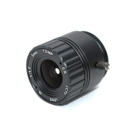 $enCountryForm.capitalKeyWord Australia - Free shipping 12Megapixel 4K 5mm Lens Fixed CS Lens 12MP 5mm 114 Degree 1 1.7 inch For 4K IP CCTV Box camera