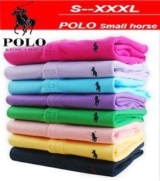 $enCountryForm.capitalKeyWord Australia - Brand New 2019 summer Fashion Men's Polo Shirt Men Cotton Short Sleeve Shirt Small Horse Embroidery Golftennis Plus Size S-5XL Free shipping