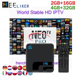 $enCountryForm.capitalKeyWord Australia - H6 4gb 32gb android 8.1 arabic smart tv box with NEOTV pro 1year euro subscription french african iptv box 2gb media player