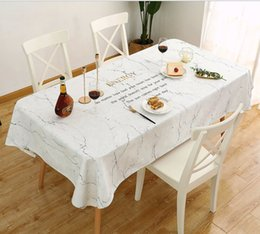 $enCountryForm.capitalKeyWord NZ - Nordic Thickened Cotton Linen Tablecloth Waterproof, Oil-proof, Iron-proof, Non-washing Tablecloth, Tea Table Mat For Hotel,Home,Restaurant