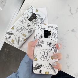 $enCountryForm.capitalKeyWord Australia - For Samsung Galaxy S10 S9 Plus Phone Case Cute Cartoon Line Paint Back Cover For Samsung S10 Plus Note 9 Case