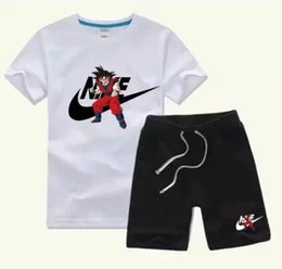 Wholesale chinese clothing baby boys for sale - Group buy Baby Boys And Girls Designer T shirts And Shorts Suit Tracksuits Kids Clothing Set Hot Sell Fashion Summer Children s