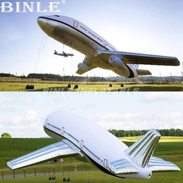 $enCountryForm.capitalKeyWord NZ - Customized outdoor advertising giant inflatable airplane model large space shuttle for event decoration