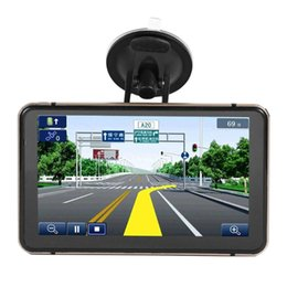 Inch androId gps dvr navIgatIon online shopping - 7 inch Android GPS Navigation Car DVR Camera Sat Nav Bluetooth WiFi AV IN Map Sat nav Truck GPS Navigators Automobile