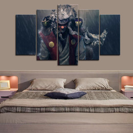 $enCountryForm.capitalKeyWord Australia - Framed 5pcs Japanese Anime Naruto Full Hd Jiraiya Wall Art HD Print Canvas Painting Fashion Hanging Pictures Bedroom Decor