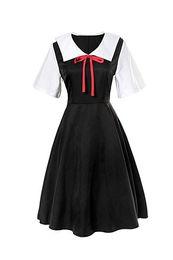Sweet gameS online shopping - Shinomiya Kaguya Fujiwara Chika Cosplay Costume Uniform Dress Japanese Anime Sweet Dress