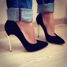 $enCountryForm.capitalKeyWord Australia - 2019 Fashion trend designer shoe patent leather stiletto office party wedding shoes gold, silver, black