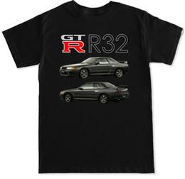 Japanese Engines Australia - 2018 Fashion Hot Sale Japanese Classic Legend Car Gtr Skyline R32 R33 R34 R35 Motor Engine Swap Badge Turbo T Shirt T Shirt