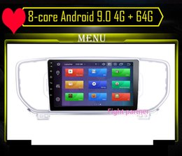 kia sportage stereo Australia - The highest board 8-core Android 9.0 4G + 64G 2 din Car Multimedia player For KIA Sportage 2016 2017 Kx5 dvd stereo car dvd