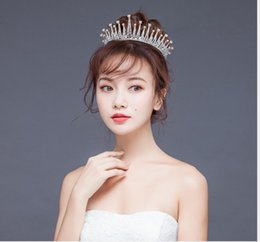 New stick online shopping - New Full Circle Crown Crystal Bridal Crown Banquet Show Crown Bridal Accessories