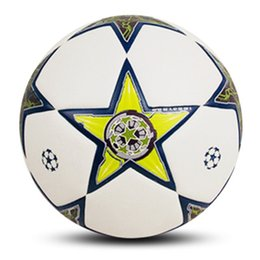 Ball For Game Australia - Real Madrid Football Size 5 Machine Sewing Fashion White Geometric Pattern Game Training Club Soccer Ball For Student jooyoo