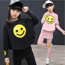 Half Children Shirts Australia - 2019 Spring Autumn Children Girls Set New Brand Fashion Solid Shirts+Cotton Pants 2 Pieces Suits Casual Kids Clothing Sets Hot