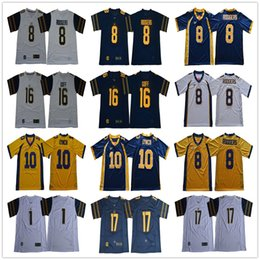 283756cac NCAA California Golden Bears College 8 Aaron Rodgers Football 16 Jared Goff  1 Melquise Stovall 17 Vic Wharton III 10 Marshawn Lynch Jerseys
