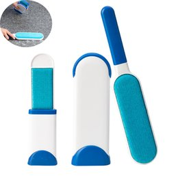 Dust Cleaner Hair Australia - 2pcs Pet Hair Remover Magic Fur Brushes Portable Household Cleaning Brush Electrostatic Dust Cleaners Device Q190606