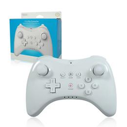 $enCountryForm.capitalKeyWord NZ - Wireless bluetooth gamepad for Nintendo wii u pro controller game joystick wiiu remote console Classic Dual Analog joypad white