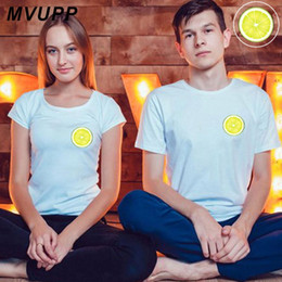 couple family t shirts 2019 - Lemom funny clothes for couple t shirt husband and wife matching outfits men women femme korean 2019 casaul print family