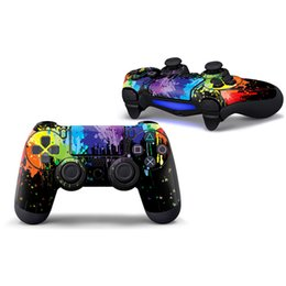 playstation controller skins Australia - Fanstore Skin Sticker Print Cover for Sony Playstation PS4 Remote Controller Cool Design (1 piece)